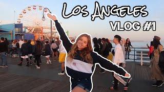 Hallo LOS ANGELES🌴✈️😍| Vlog #1
