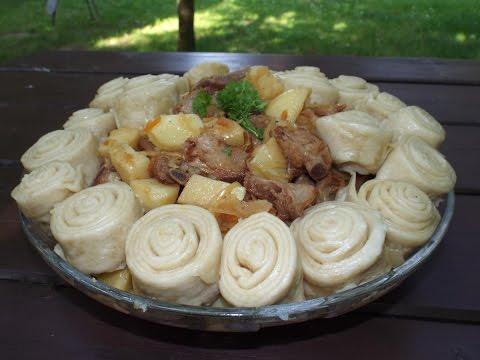 Рогалики 17 рецептов с фото Готовим печенье в виде