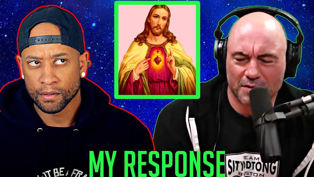 Joe Rogan: Christianity is SO 🤬 STUPID! (My Response)