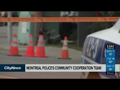 Montreal police develops community outreach team