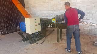 Измельчитель древесины в опилку для производства пеллет, брикет