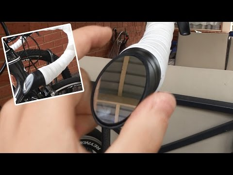 The Italian Road Bike Mirror Installation + Review
