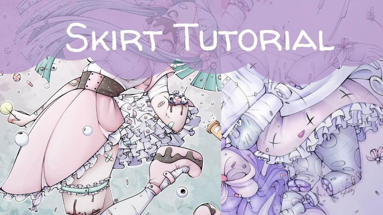 Download How I draw skirts and ruffles