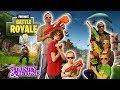 FORTNITE IN REAL LIFE!! Nerf War vs Hunger Games in Real Life Battle Royale!!