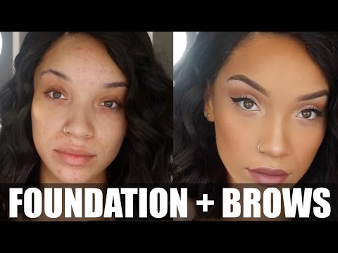 Eye Makeup With Foundation