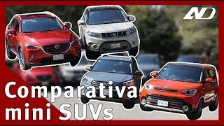 Suzuki Vitara vs Kia Soul vs Mazda CX3 vs Hyundai Creta - #SuzukiReta