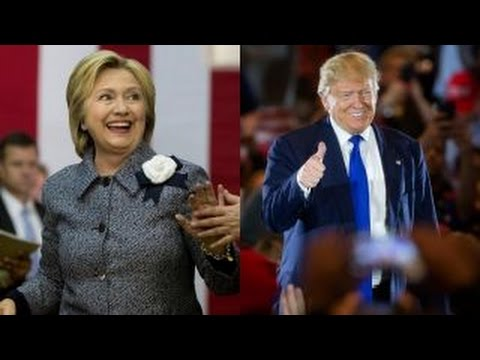 Clintons negatives rising faster than Trumps?
