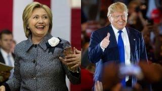 Clinton's negatives rising faster than Trump's?