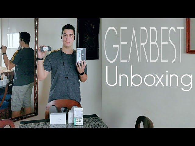 Bone Machine, SmartWatch com ECG e Robô Massageador! - Unboxing Gearbest!!