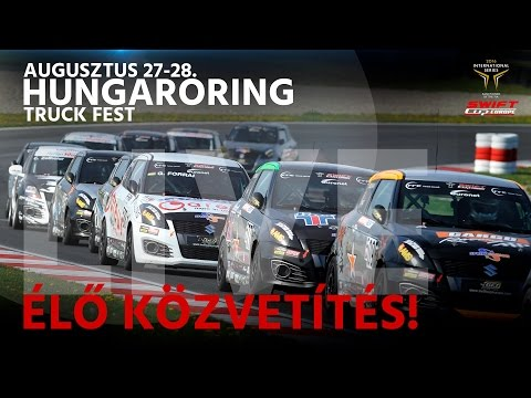 FIA Suzuki Swift Cup Europe - Hungaroring- RACE 3 - LIVE
