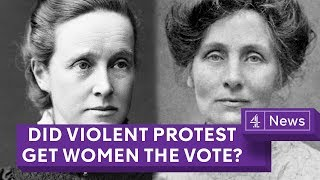 Suffragettes vs Suffragists: Did violent protest get women the vote?