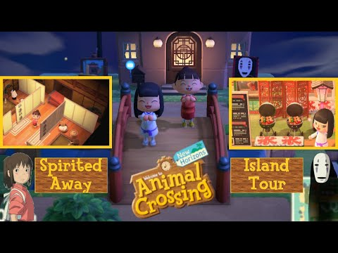 Spirited Away Natural Japanese Theme 5 Star Island Tour Spirit World 霊界 Animal Crossing New Horizons Youtube