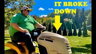 Lawn mower trouble!!