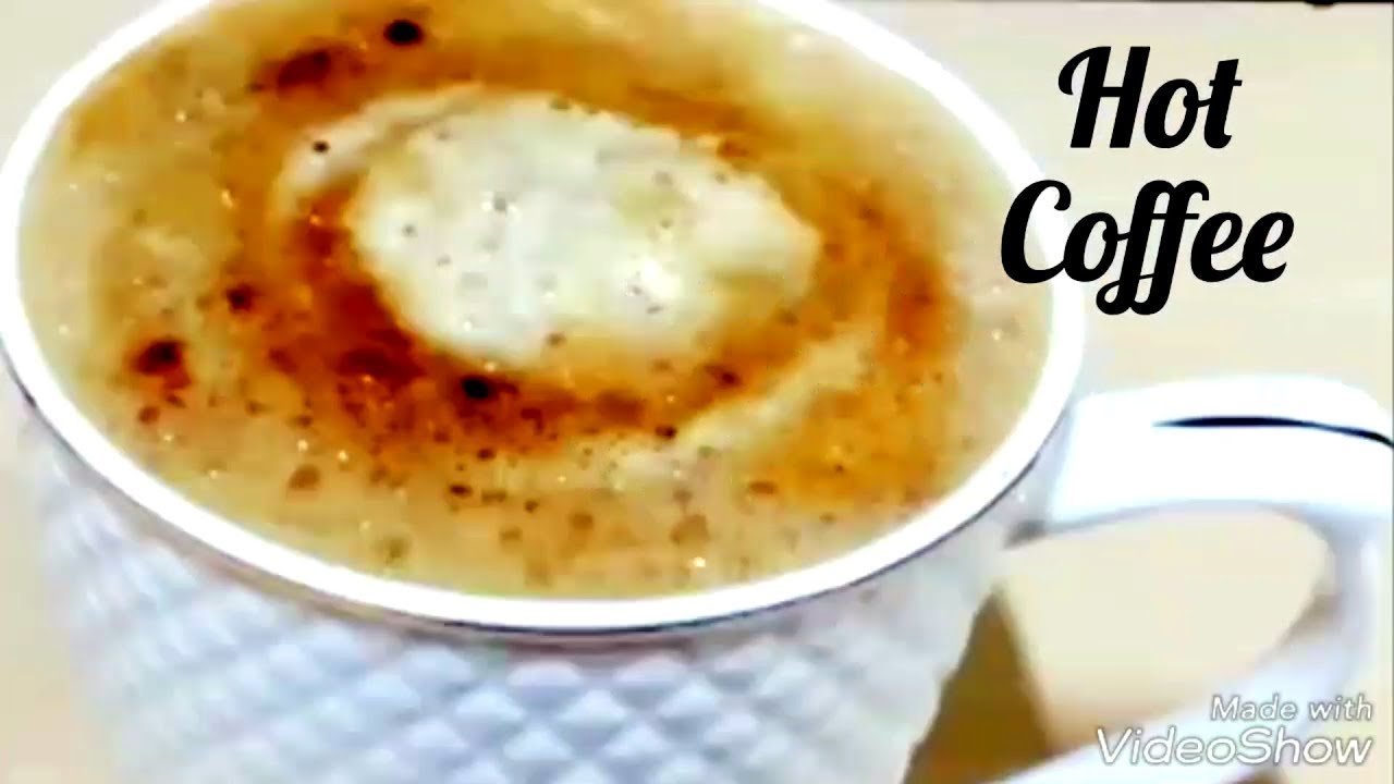 how to make hot coffee at home