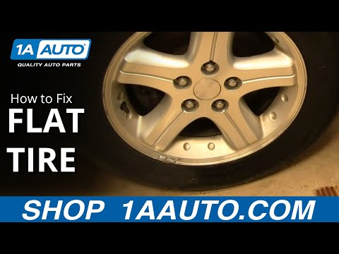 how-to-fix-a-flat-tire-on-a-car-or-truck