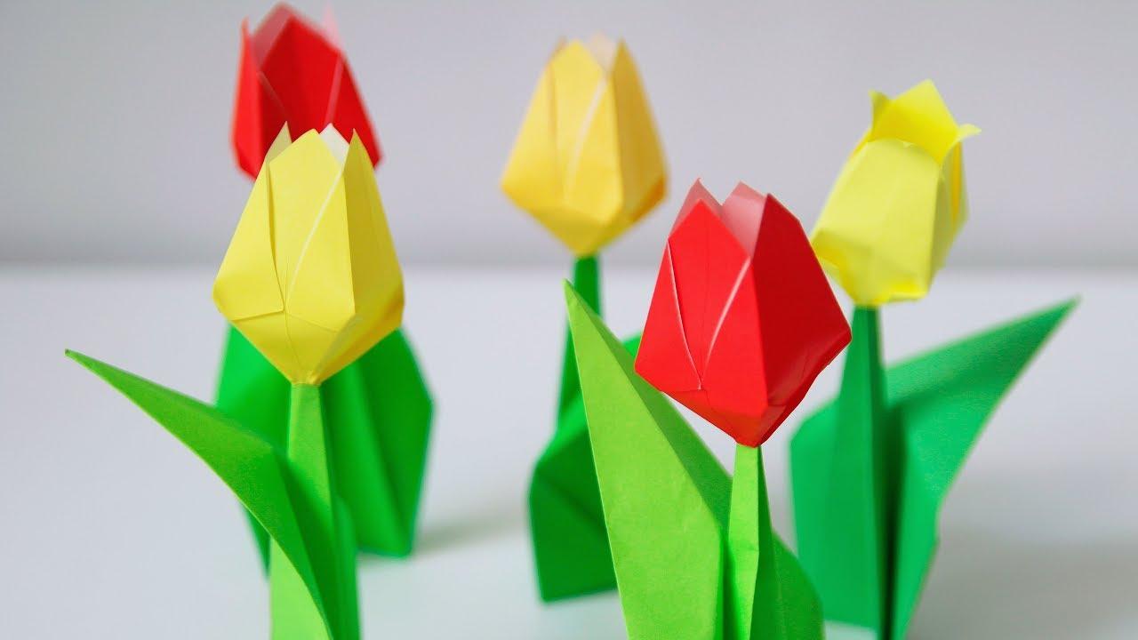 Origami Tulip - YouTube | 720x1280
