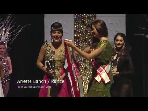 Teen World Super Model, Miss Teen World Puerto Rico 2016