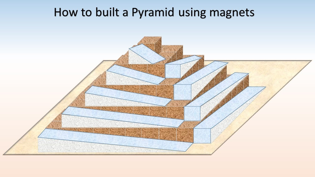 Build a pyramid using magnets part 1 the side case ramps for How to build a side by side