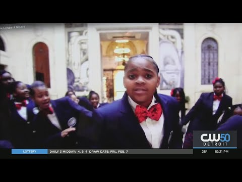 Detroit Academy Of Arts and Sciences Choir Performs In San Francisco