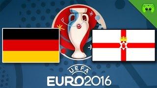 DEUTSCHLAND vs. NORDIRLAND 🎮 PES: EM Orakel 2016