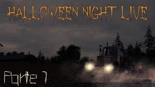 FS15: Halloween Night Live - Parte 1 w/JDReality - Gasp - MrBuggatore