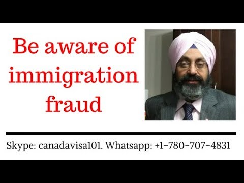 Immigration promises and possible fraud