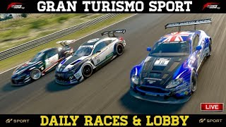 GT Sport - Trying to get A+ on EU account and post lobby racing
