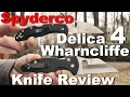 Spyderco Delica 4 Lightweight Wharncliffe Knife Review.  Also Starring the Yojimbo 2!