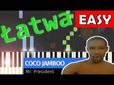 🎹 Coco Jamboo (Mr. President) - Piano Tutorial (łatwa wersja) 🎹