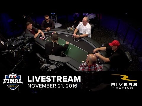 Livestream | 11-21-16 | Rivers Casino - Pittsburgh, PA | The Final Table