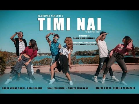 Timi Nai - Rabindra Kshetri (Dance Video) | New Nepali Pop Song 2018 / 2075