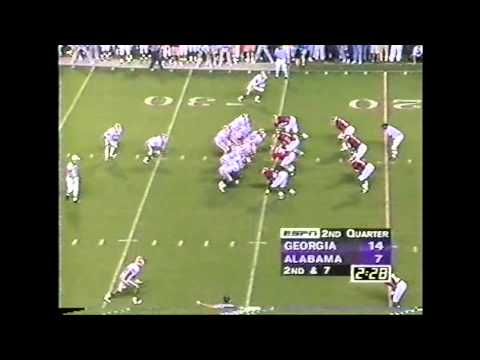 1994 Georgia vs. #11 Alabama Highlights