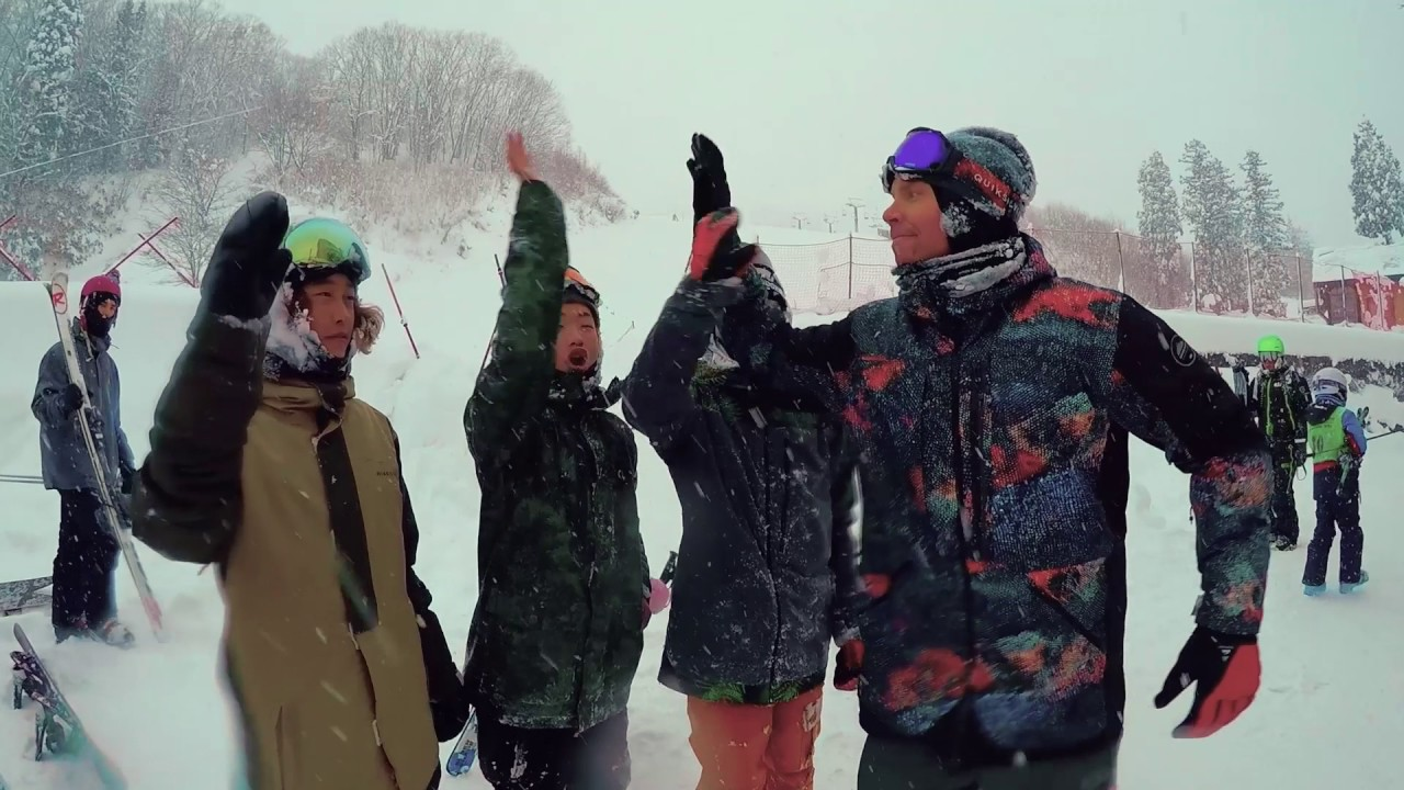YOUNG GUNS SNOW with TRAVIS RICE @HAKUBA