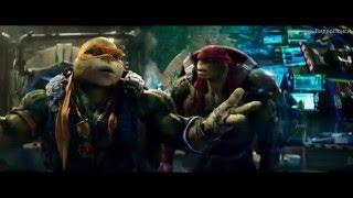 Черепашки-ниндзя 2 (русский трейлер) 2016 | ВидеоПоиск