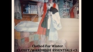 My Closet/Wardrobe Essentials II Clothed For Winter Thumbnail