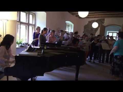 Yuko Kawai BEETHOVEN Choral Fantasy - the first rehearsal