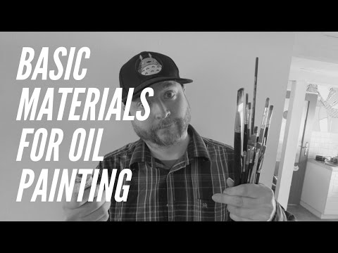 Basic Materials To Get Started With Oil Paint
