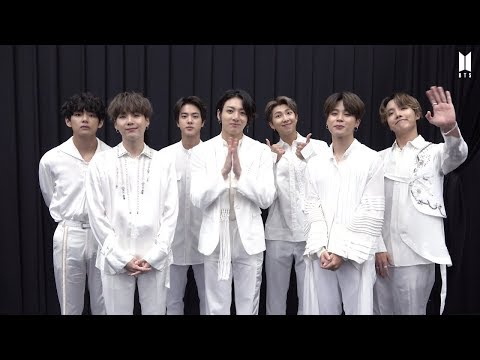 BTS(방탄소년단) 2019 BTS POP-UP : HOUSE OF BTS Greeting Message