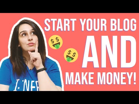 How to Start a Blog in 2020 & Make Good Money Online