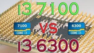 i3 7100 vs i3 6300 benchmarks gaming tests review and comparison kaby lake vs skylake