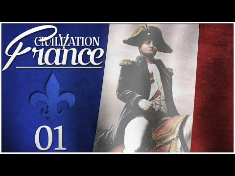 Civilization 5 - Vox Populi as France - Episode 1 ...Surrounded by Warmongers...