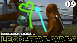 "LEGO STAR WARS The Complete Saga Ep 09 - ""I Bent My Wookiee!!!"""