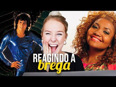REACT À BREGA e TECNOBREGA Gaby Amarantos Sidney Magal Wando
