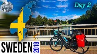 EUROPE VLOG Scandinavia Day 2 Bike packing  SWEDEN