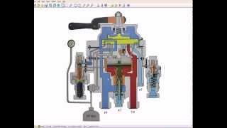 Работа крана машиниста локомотива 394 (395) в каждом положении(Создавалось видео, как говориться, для себя в качестве быстрой напоминалки. Может кому и ещё будет полезным...., 2013-11-29T12:14:04.000Z)