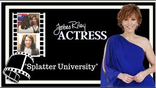 Forbes Riley stars in Splatter University - the Cult Slasher Movie Hit!