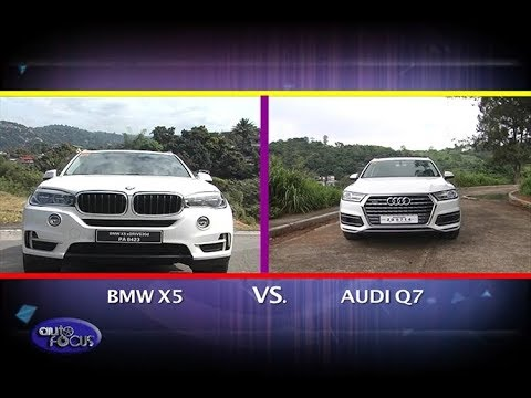 bmw x5 vs audi q7 head 2 head 2017 youtube. Black Bedroom Furniture Sets. Home Design Ideas
