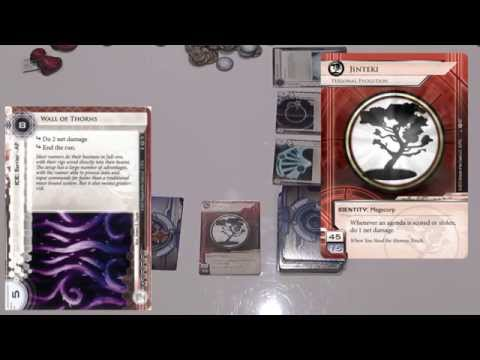 How To Play Android Netrunner - Episode 1 - Setup & Rules