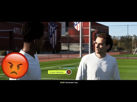Alex Hunter Vs Antoine Griezmann (FIFA 18 The Journey)