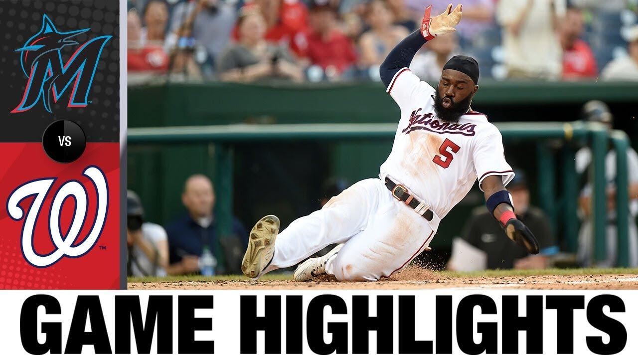 Download Marlins vs. Nationals Game Highlights (7/20/21)   MLB Highlights
